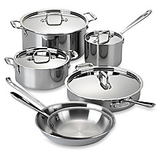 All Clad Stainless Steel Cookware Collection Bed Bath