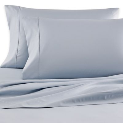 Wamsutta® 620-Thread-Count Egyptian Cotton Olympic Queen Sheet Set in Light Blue