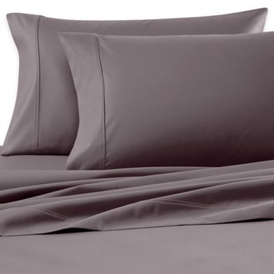 Wamsutta® 620-Thread-Count Egyptian Cotton Olympic Queen Sheet Set in Metal
