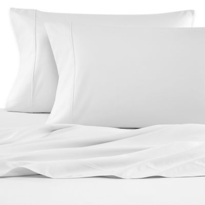 Wamsutta® 620-Thread-Count Egyptian Cotton Olympic Queen Sheet Set in White