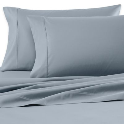 Wamsutta® 620-Thread-Count Egyptian Cotton Solid Dual King Sheet Set in Aqua