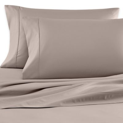 Wamsutta® 620-Thread-Count Egyptian Cotton Solid Dual King Sheet Set in Silver