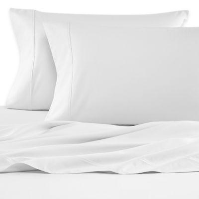 Wamsutta® 620-Thread-Count Egyptian Cotton Solid Dual California King Sheet Set in White