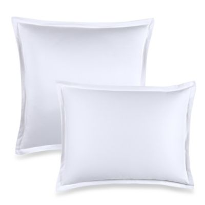 400-Thread-Count European Pillow Sham in White