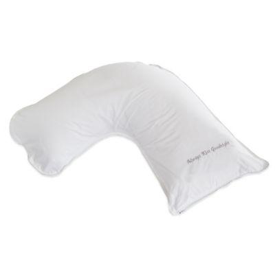 """The Pillow Bar® Down """"Always Kiss Goodnight"""" Medium Side Sleeper Pillow"""