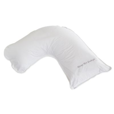 "The Pillow Bar® Down ""Always Kiss Goodnight"" Athlete Side Sleeper Pillow"