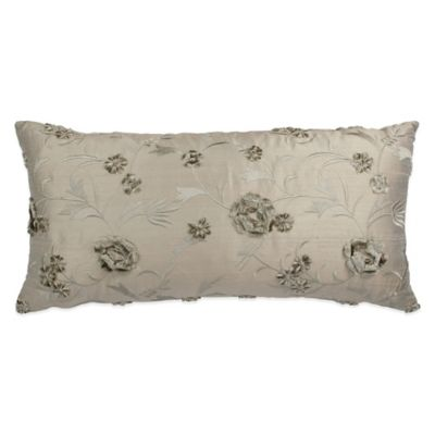 Austin Horn Collection Cascata Floral Bolster Throw Pillow