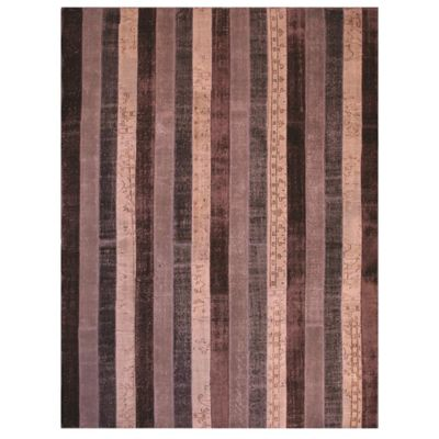 Beekman 1802 Kindfolk Patchwork 6-Foot x 9-Foot Rug in Brick