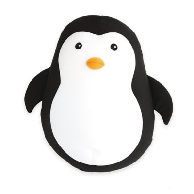 Kikkerland® Zip & Flip Penguin Travel Pillow