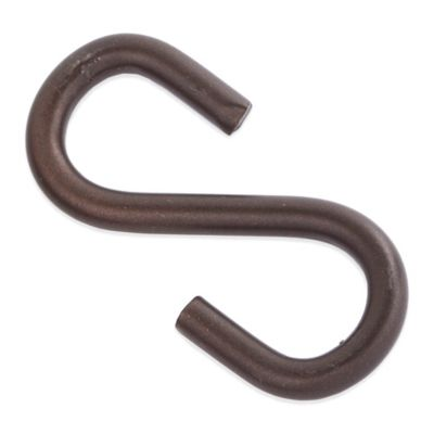 "Old Dutch International 2-Pack Pot Rack ""S"" Hooks in Oiled Bronze"
