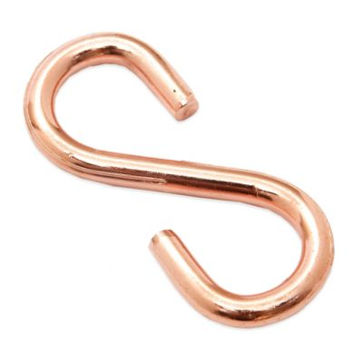 "Old Dutch International 2-Pack Pot Rack ""S"" Hooks in Copper"