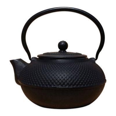 "Old Dutch International Unity® 52 oz. ""Saga"" Teapot in Black"