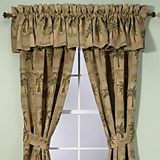 Palm Grove Valance