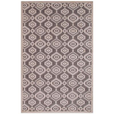 Jaipur Fables Magical 9-Foot x 12-Foot Area Rug in Grey/Ivory