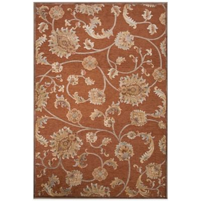 Jaipur Harper Myrica 7-Foot 6-Inch x 10-Foot 10-Inch Area Rug in Orange