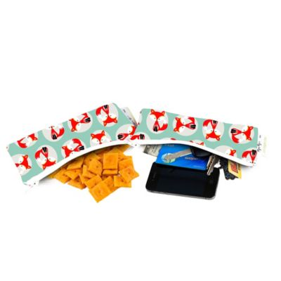 Itzy Ritzy® Snack Happens™ Reusable Mini Snack Bags in Little Fox (Set of 2)