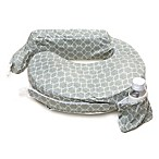 My Brest Friend® Original Nursing Pillow in Flower Key Grey