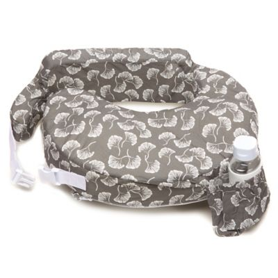 Grey White Nursing Pillow