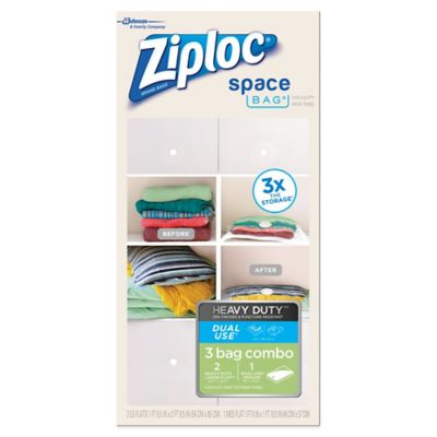 Ziploc® Space Bag® 3-Piece Heavy Duty Combo Set