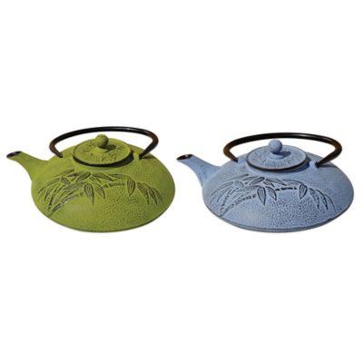 "Old Dutch International Unity® ""Positivity"" 26 oz. Teapot in Moss Green"