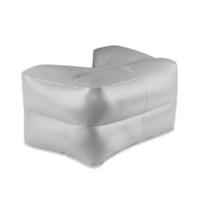 Squatty Potty® Inflatable Port-A-Squatty Toilet Stool in Grey
