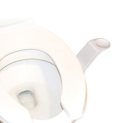 Toilet Seat Lifters in White (Set of 2)