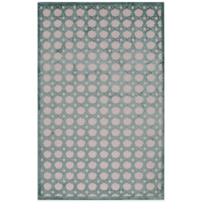 Jaipur Fables Trella 7-Foot 6-Inch x 9-Foot 6-Inch Area Rug in Ivory/Blue