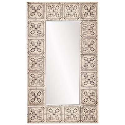 Howard Elliott® 48-Inch x 84-Inch Upton Rectangle Mirror in Antique Beige