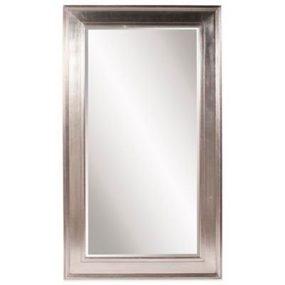Howard Elliott® 49-Inch x 85-Inch Christian Floor Mirror in Silver