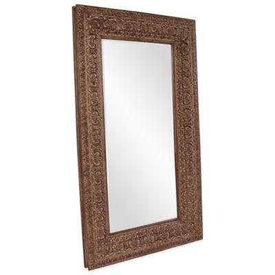 Brown Floor Mirror