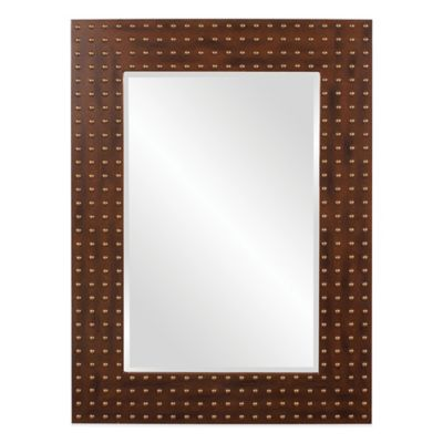 Howard Elliott® 35-Inch x 48-Inch Maddux Rectangular Mirror in Walnut