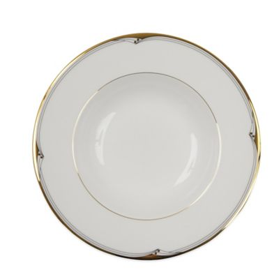 P by Prouna Ambassador Gold Rim Soup Bowl