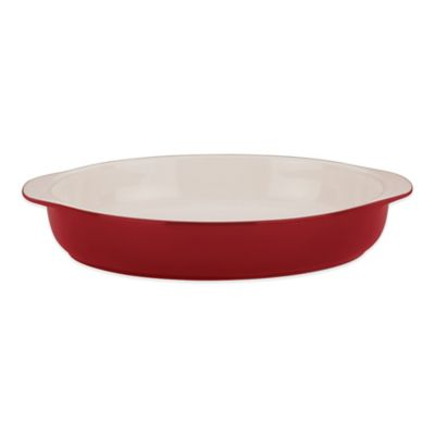 Rick Bayless by Gorham® 14-Inch Oval Baker in Red