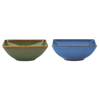 Blue Bowls Microwave and Dishwasher Safe