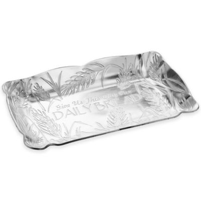 "Wendell August ""Give Us This Day Our Daily Bread"" Aluminum Tray"