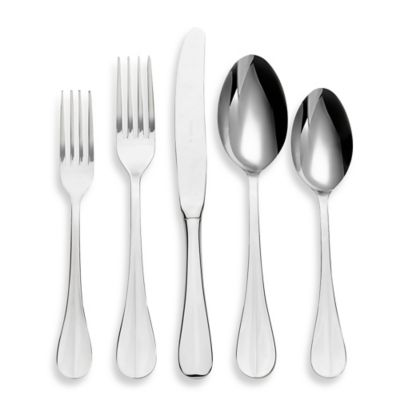 Black Stainless Steel Flatware Sets