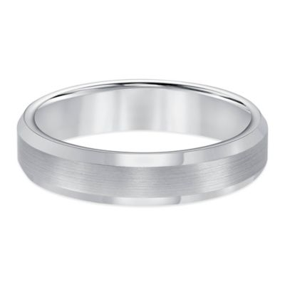 Scratch-Resistant Wedding Band