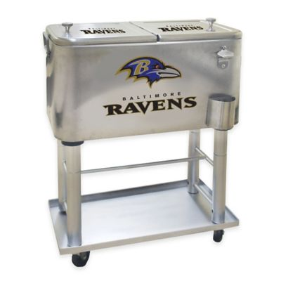 NFL Baltimore Ravens 60 qt. Cooler