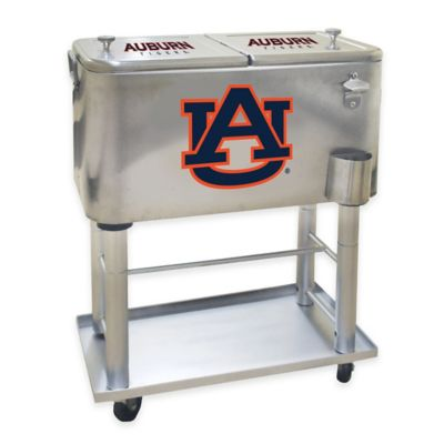 NCAA Auburn University 60 qt. Stainless Steel Cooler