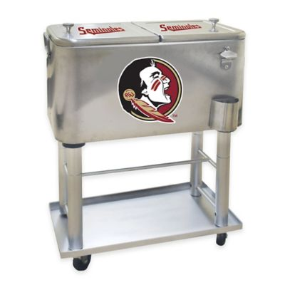 NCAA Florida State University 60 qt. Stainless Steel Cooler