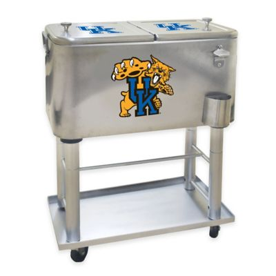 NCAA University of Kentucky 60 qt. Stainless Steel Cooler