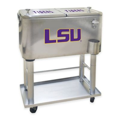 NCAA Louisiana State University 60 qt. Stainless Steel Cooler
