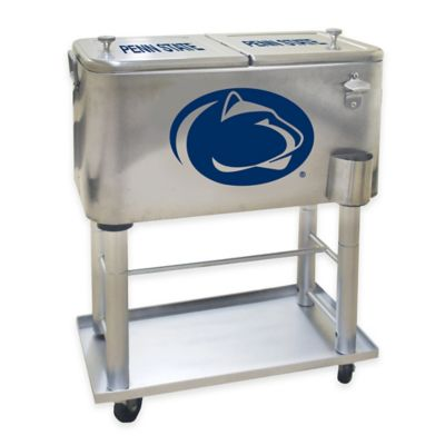NCAA Penn State 60 qt. Stainless Steel Cooler