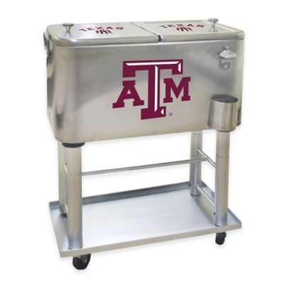 NCAA Texas A&M University 60 qt. Stainless Steel Cooler