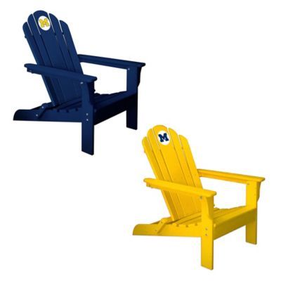 University of Michigan Adirondack Chair in Yellow