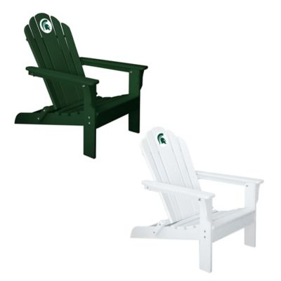 Michigan State University Adirondack Chair in White