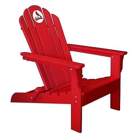MLB St Louis Cardinals Adirondack Chair Bed Bath Beyond