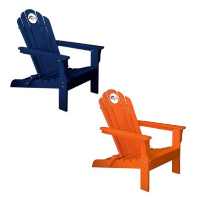 NFL Denver Broncos Adirondack Chair in Orange