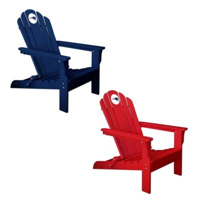 NFL New England Patriots Adirondack Chair in Red