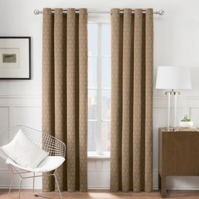 Times Square® 63-Inch Grommet Window Curtain Panel in Sand
